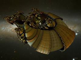 My personal spaceship by marijeberting