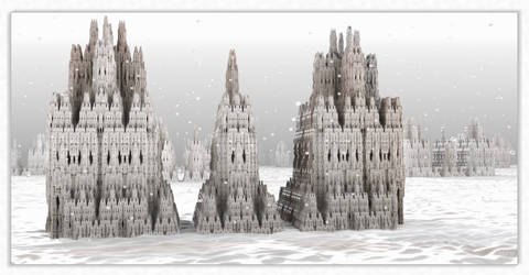Snowing in the city by marijeberting