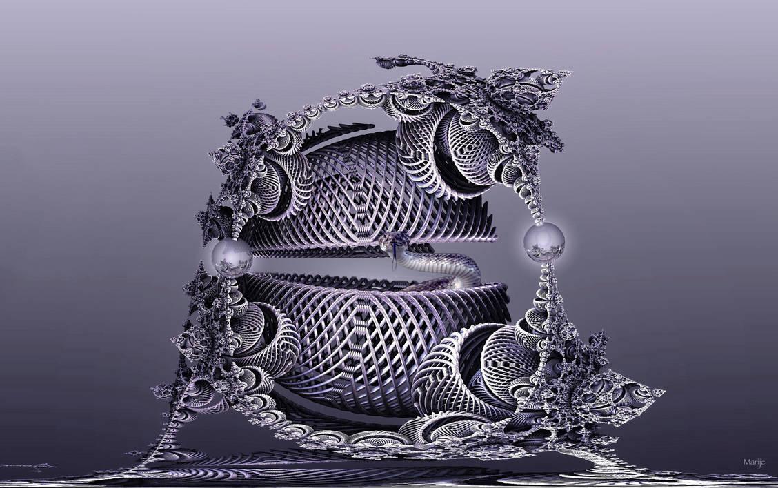 Snake basket by marijeberting
