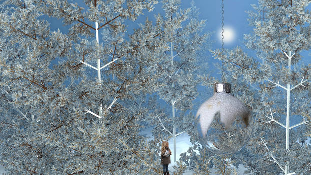 How to hang my translucent Christmas bauble ...? by marijeberting