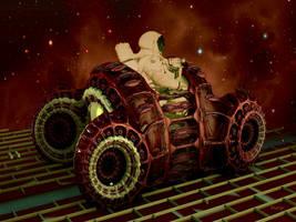 Lunar Rover by marijeberting