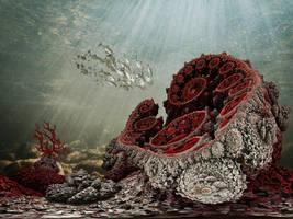 Coral reef by marijeberting