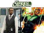 Rob Brown as John Stewart (Green Lantern) by MZimmer1985
