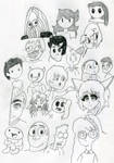 Awesome Meeting Of Awesome Art YouTubers by wintercool612