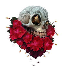 Tattoo Skull by Grizzlyfrog