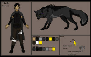 Niketh Character Profile by Chylk