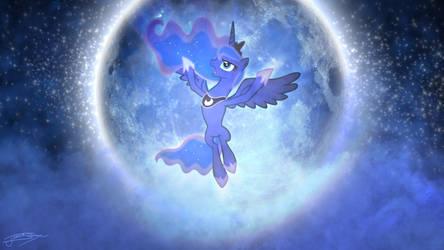 Princess Luna - Night of the Full Moon by Jamey4
