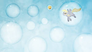 Derpy Hooves - Bubbles by Jamey4