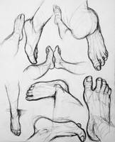 Homework Feet by EymBee