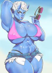 Big Blue by EymBee