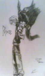 Roxas by TheCrimsonVampire