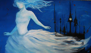 Cinderella oil painting by PurpurNena