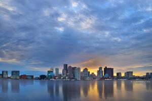 Boston Sunset by ashamandour