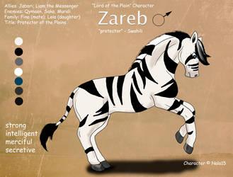 Zareb Ref Sheet by Nala15