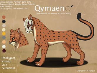 Qymaen Ref Sheet by Nala15