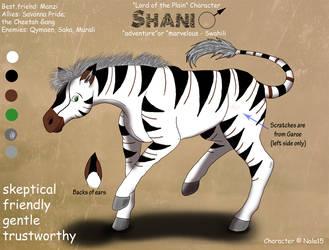 Shani Ref Sheet by Nala15