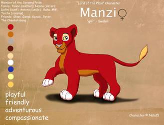 Manzi Ref Sheet by Nala15