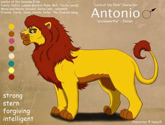 Antonio Ref Sheet by Nala15