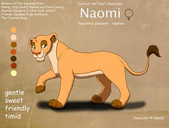 Naomi Ref Sheet by Nala15