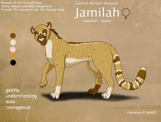 Jamilah Ref Sheet by Nala15