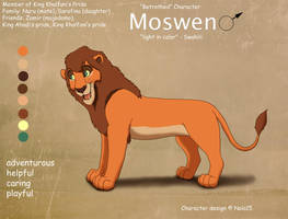 Moswen Ref Sheet by Nala15