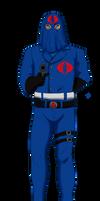 Hooded Cobra Commander - Cobra Fan Club Art Jam by Nala15