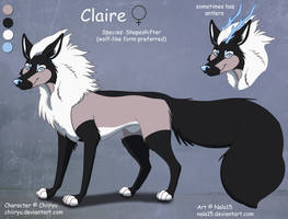 Claire - Simple Ref Sheet Commission by Nala15