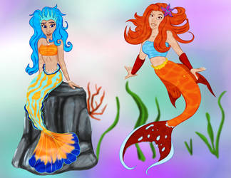 Mermaid Auction - 2/2 OPEN by Nala15