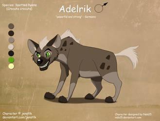 Hyena - OC Design Commission by Nala15
