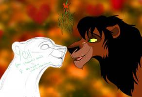 YCH with Rehema - Under the Mistletoe - CLOSED by Nala15