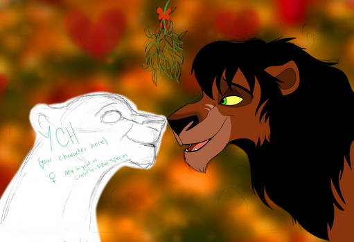 YCH with Rehema - Under the Mistletoe [2/3 OPEN] by Nala15