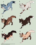 Wolf Point Adopts - 5/6 OPEN by Nala15