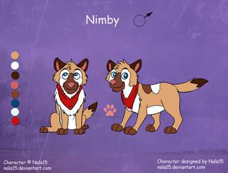Nimby - Ref Sheet (Fuzzles) by Nala15