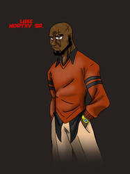 Luke Worthy Sr. Character Concept Art by BrotherRoyVA