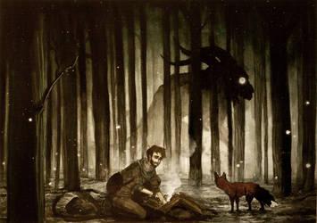 The Minotaur by JACKIEthePIRATE