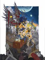 junkyard angel 2 by JACKIEthePIRATE