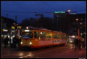 Karlsruhe in the Morning by TramwayPhotography