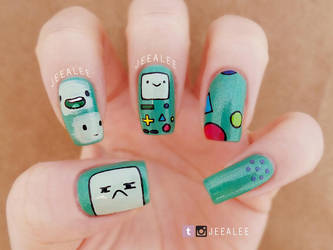 Beemo Nails by jeealee