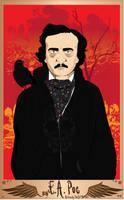 E. A. Poe by artwarriors