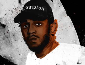 Kendrick Lamar by artwarriors