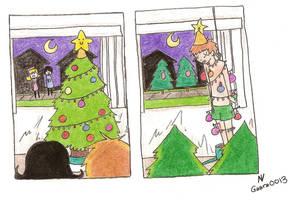 Christmas Trees by Gaara0013