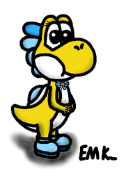 Goldy the Yoshi by EndorMK