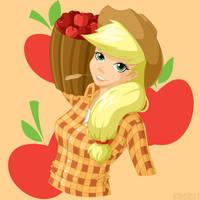 Applejack by PrettyKitty
