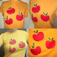 Applejack Shirt by PrettyKitty