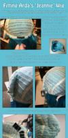 Fitting Arda's Jeannie Wig Tutorial by PrettyKitty