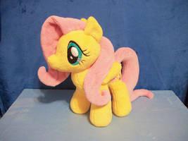 Fluttershy Plush by PrettyKitty