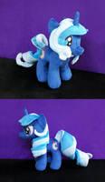Commish - Sapphire Star Plush by PrettyKitty