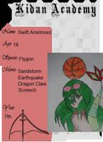 Swift Amirmoez (Kidan Acedemy Application) by MatsuKami