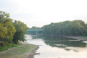 River In Lafayette by MatsuKami