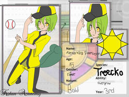 Treecko App Kidan Academy by MatsuKami